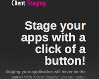 Client Staging