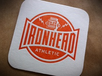 Letterpress Logo Coaster #3