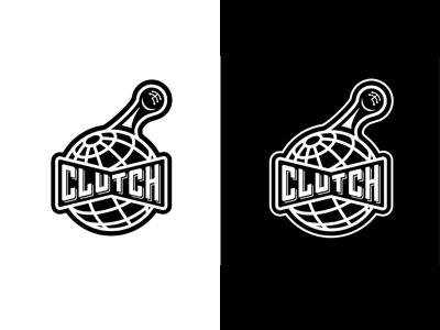 CLUTCH LOGO design badge typography custom type icon lettering logo