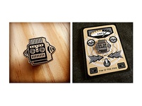 New Robot Pin and Packaging