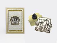 Coffee Fueled Creative Pin