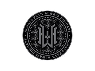 Hot Wheels Badge crest monogram badge logo typography logo