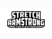 Stretch Armstrong logo concept