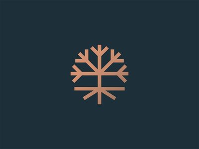 Tree circle visual identity line design branding icon mark minimal logo leaves branches roots outdoors nature woods green geometry