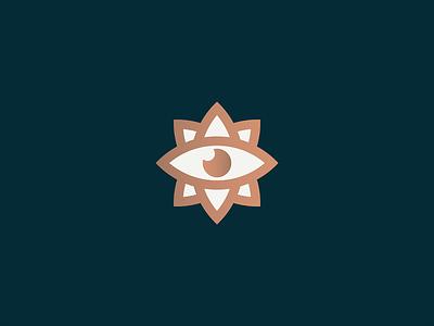 Compass visual identity design illustration branding geometry minimal logo globe wanderlust minimalist north look world lotus travel eye