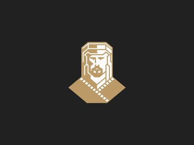 Arab Man icon branding mark logo figure abstract elegant quality noble luxury beverage craft specialty coffee middle east minimalist geometry portrait face
