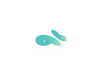 Infinity Rabbit animal running minimal loop infinity rabbit speed
