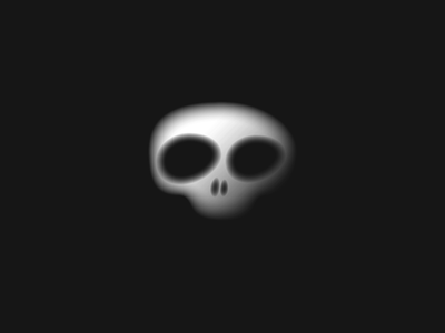 Skull jolly roger illistration skeleton eyes head skull ghoul