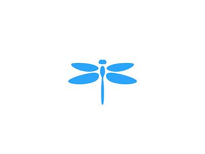 Dragonfly organic insect vector branding animal illustration design geometry icon mark minimal logo