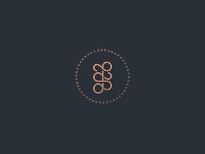 JS monogram letter lettermark lettering typography thread stiches heraldry line lineart geometry minimal mark logo branding