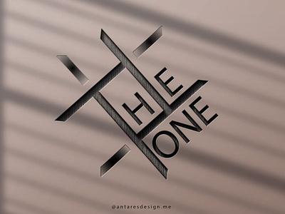 TheOne Logo Design illustrator antares design logo