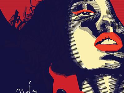 maria illustration digital illustration digital painting digitalart art design illustration