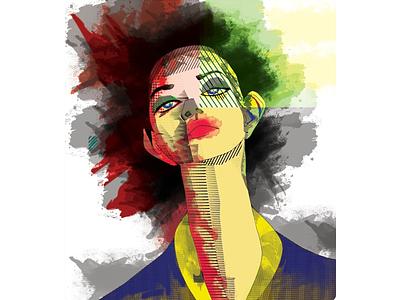 maria drawing drawingart masterpiece artworks designer painting illustrator art illustrator brand identity best illustration illustration digital painting digital illustration digitalart design art