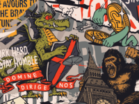 London Mural Snippet