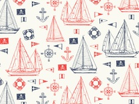 Cole Haan Sailboat Pattern