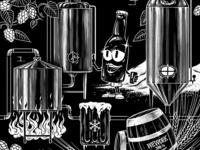 Brew Process Mural