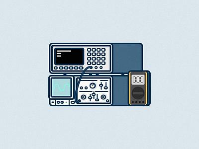 Analog Lab oscilloscope circuit analog