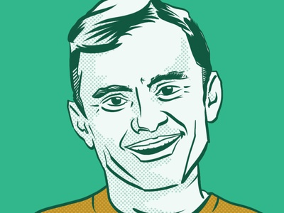 Gary Vee, Inspiring the Internet Daily garyv garyvee wacom cintiq illustration art design illustration hand drawn hand draw