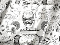 Line Pattern Fabric Mairead Murphy