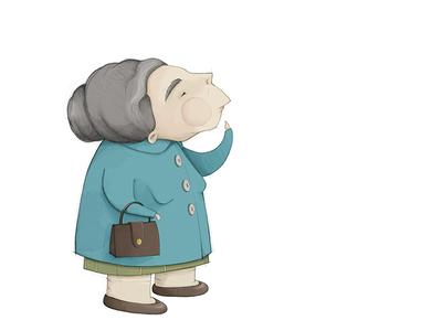 Old Woman - work in progress
