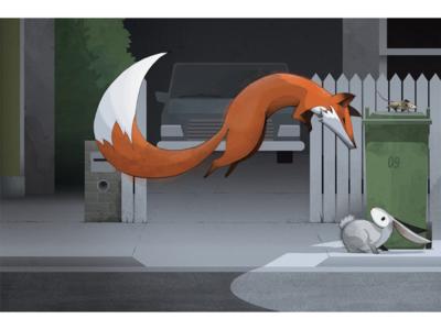 One Runaway Rabbit - children's book