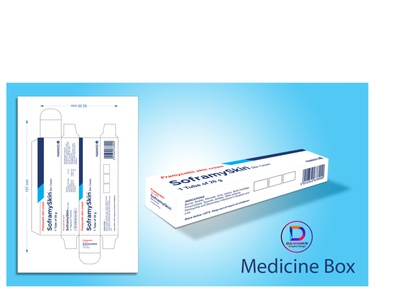 Box Packaging Design medicine package product package label design package design box packaging design