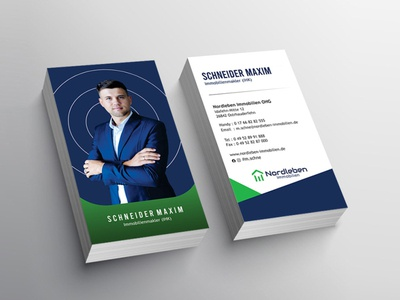 Professional Business Card professionelle visitenkarte