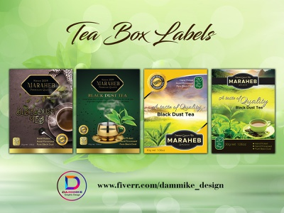 Tea Bag Label Design print ready thank you card product insert professional cards product package design package design labels design