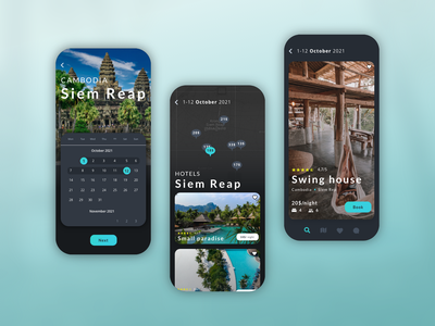 Booking mobile app application app mobile ui mobile creative design xd adobexd travel booking app interface dashboad ux ui appdesign uitrends uiux uiuxdesign traveling ios app
