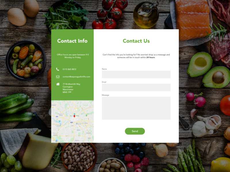 #DailyUI Day 28 - Contact Us contact page contact form contact us contact 028 28 message web design dailyui ui dailyuichallenge