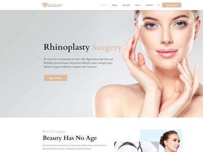 Plastic Surgery Wordpress Themes skincare