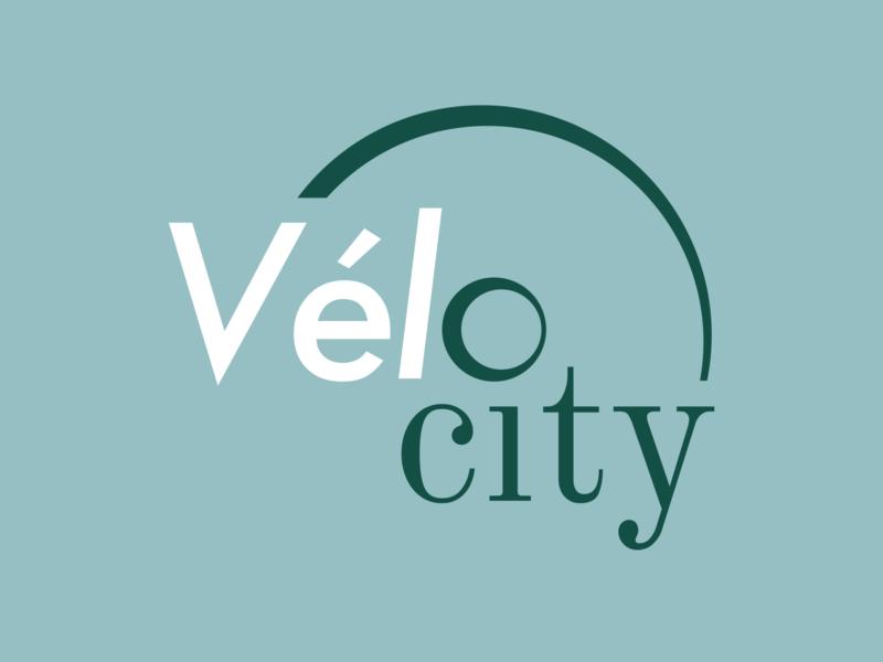 Logo Vélocity location bike design visual identity identité visuelle graphisme graphism graphicdesign graphic logodesign logotype logo