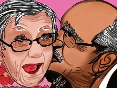 i wanna grow old with you illustrator vector animation ibis ibispaint illustration design