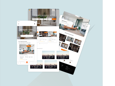 Real Estate Booking & Rentals booking system real estate uiux