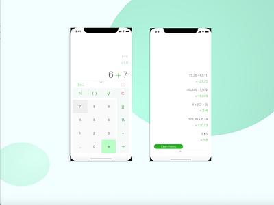Calculator dailyui ux web ui design