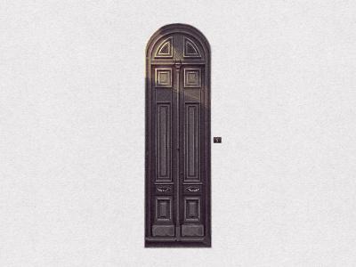 Portal entrance house maldonado montevideo uruguay colonia reus barrio portal illustration door