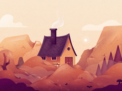 Game Assets clouds trees cabin hills spritepack sprites game art development game