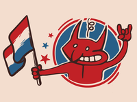 Trotsky Nacional Stickers