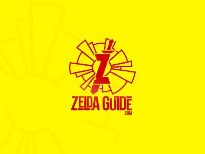 Zelda Guide illustration vector logotype design logo