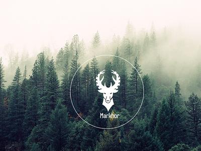 markhor minimalist logo modern logo logo design
