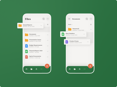 File Manager — Mobile application typography file manager product mobile files manager light apple design iconography mobile application ios ux ui minimal inspiration figma design clean concept app