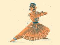 Bharatnatyam Dancer culture arts diverse india dance non-fiction publishing kidlitillustration kidlitart illustration editorial childrens illustration chapterbook children book illustration
