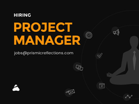 Hiring Now - Project Manager