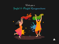 Colourful, Playful & Happy Rangpanchami (Holi)