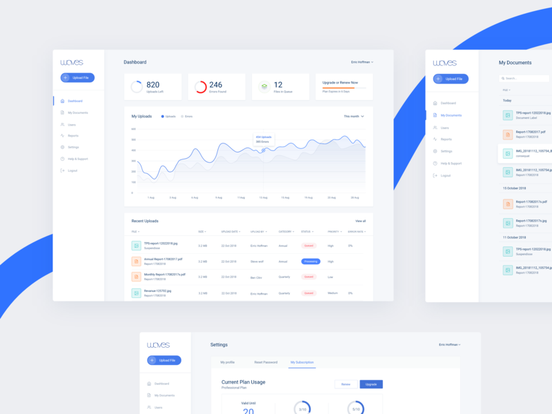 Document Management Designs Themes Templates And Downloadable Graphic Elements On Dribbble