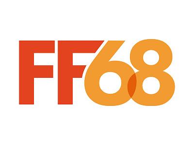 Logo FF68 identité visuelle visual identity logo
