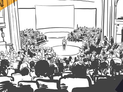Illustration conférence