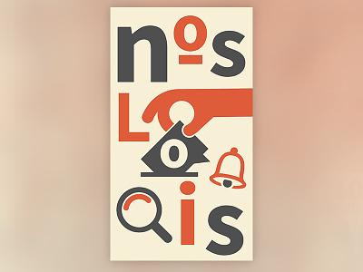 Nos Lois identité visuelle visual identity logo