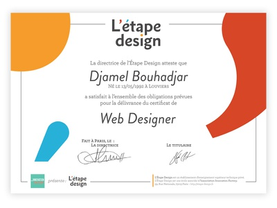 Diplôme Étape Design design diplome graphisme diploma