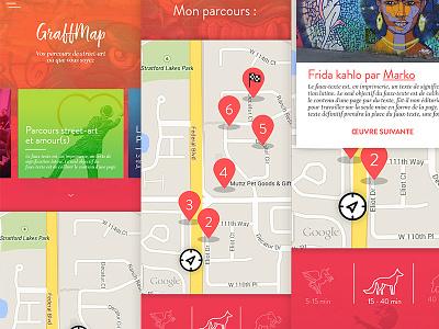 Graffmap design interface interface